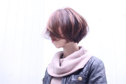 外国人風ボブ Wish Hair所属・柳川裕貴のスタイル