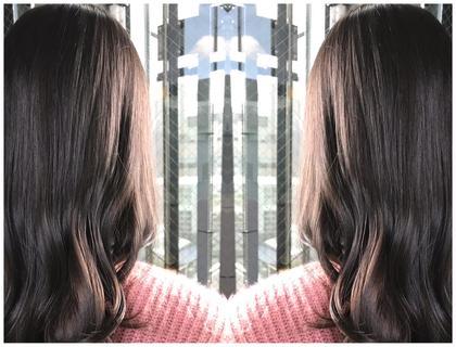 前髪カット&HIGH透明感カラー(アディクシー・イルミナ)&完全補修型トリートメント
