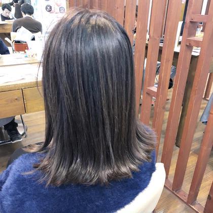 ✨艶髪ナシードカラー✨イースタンダードシャンプー付き