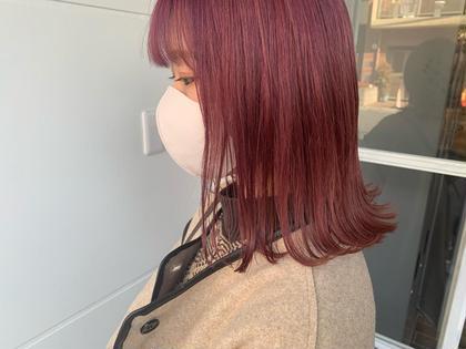 【美髪ケア🌷】💟レディースカット + カラー + 3STEPトリートメント
