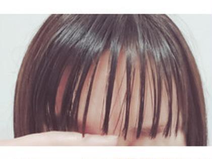 【前髪カット】でスッキリ♪
