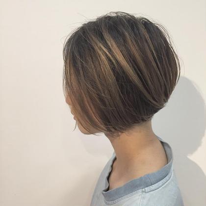 バルーンボブ♪♪  動いても乱れないまとまるヘアに(^。^) TWiGGY  歩行町店所属・松井勇樹のスタイル