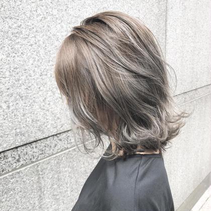 めちゃくちゃ可愛い❤ グレージュ❤ moeRi.Nのヘアカラーカタログ