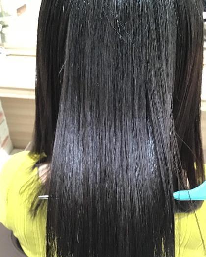 ⭐️🌈4月限定🌈⭐️癖をしっかり伸ばしたい方にオススメ🙆縮毛矯正ハード+CMCトリートメント