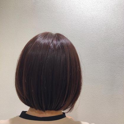 髪にも頭皮にも優しいオーガニックカラー!白髪染めもおしゃれ染も任せてください💪カット込みです!!