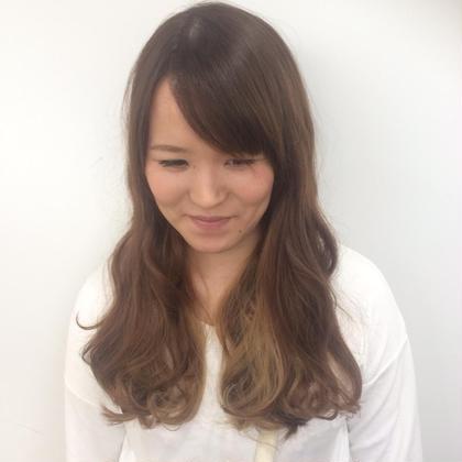 《ミニモ限定》カット+カラー+ヘアエステ ¥8000