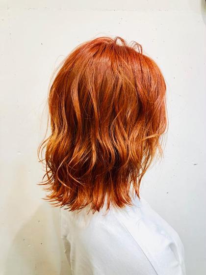 💙💙3月限定【1番人気】ブリーチ込みW(ダブル)カラー&3stepトリートメント&炭酸スパ&巻き髪セット💙💙