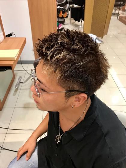 須藤光洋のメンズヘアスタイル・髪型