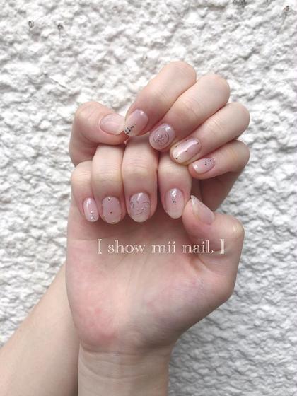 【リピーター様❤︎クーポン】nail OFF + ON (コースワンカラー)\5,400,