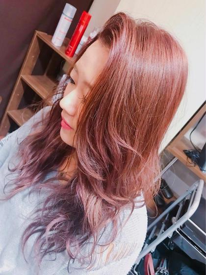 hair color バイオレット 美容室HEART所属・齊藤しおりのスタイル