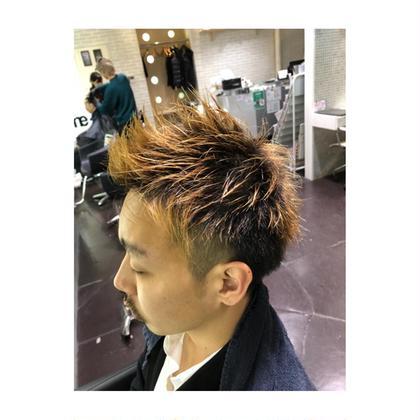 毛先グラデーションカラー! おすすめです! ame  hair所属・✂︎西山恵太郎のスタイル