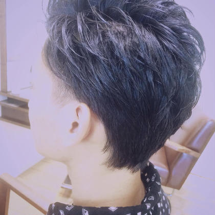 メンズカット♡  ショートツーブロ♡ Deiz所属・久川莉佳のスタイル