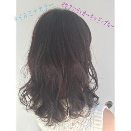 【✨色味艶No.1イルミナカラー✨】イルミナカラー+艶トリートメント