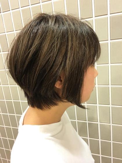 前下がりショートボブ‼︎ U.Hair所属・仲光啓輔のスタイル