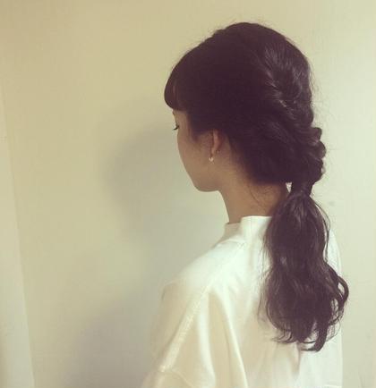 フィッシュボーンアレンジ hair&make mandrill所属・古内明日香のスタイル