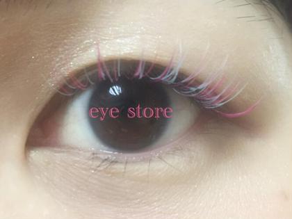 カール:Cカール 長さ:目頭10mm、全体12mm 太さ:0.15mm  ⭐️フルカラー⭐️ ピンク2色、水色MIX CHARME(eye store)所属・いしばしちえのフォト