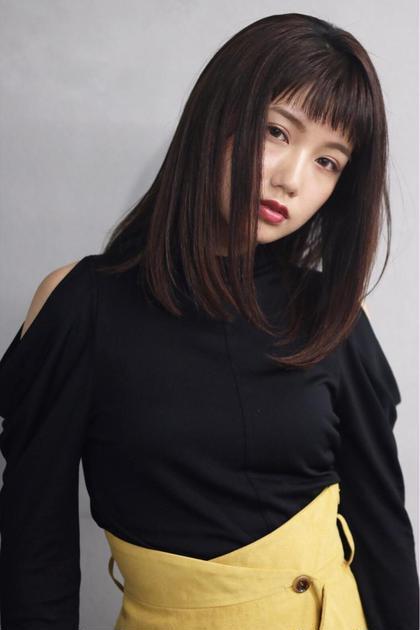 N/92co.似合わせカット & トキオ縮毛矯正 & トキオトリートメント