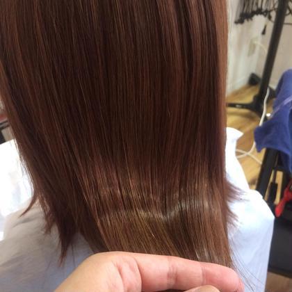 [ダメージレスオイルカラー]INOAcolor + 潤艶 treatment