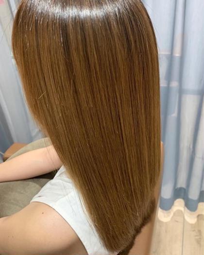 ✨人気No.1✨ツヤ髪を目指すなら❣️髪質改善酸熱トリートメント+イルミナ+フローディアBSTR🟠3目まで利用可能🟠