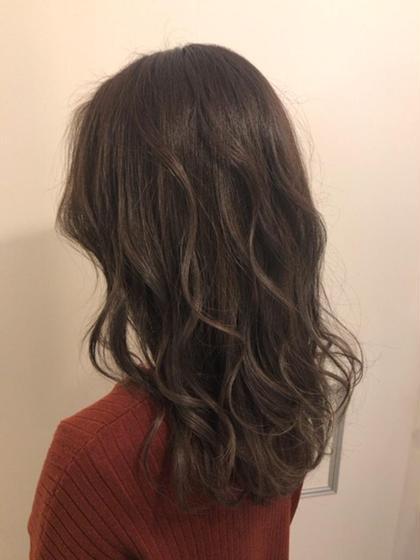 THROWカラーで大人気外国人風ヘアカラー(^^)/ Cecil hair 神戸店所属・RYO-TA のスタイル