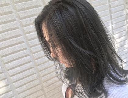 カラー  【 イルミナカラー × シアーグレージュ 】