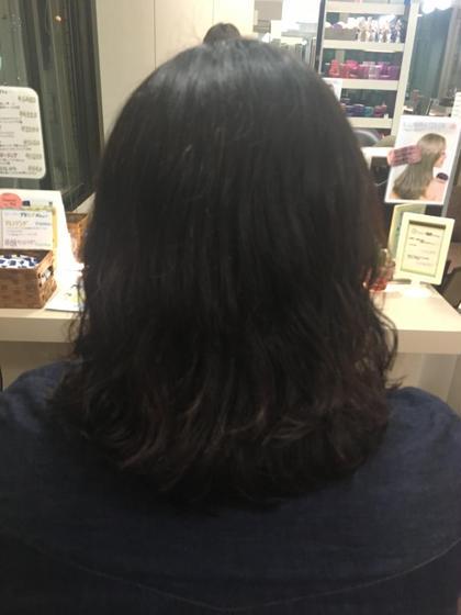 ふわふわパーマ hair an floren所属・佐藤梨奈のスタイル