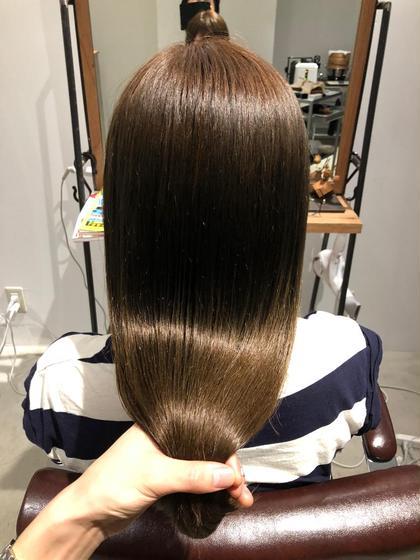『髪の内側から綺麗に』頭皮からふわっと立ち上がる♪小顔カット+酵素の力でデトックスケアTR