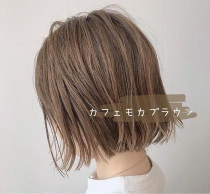 ❤️毛先メンテナンスカット&アディクシーカラー¥5720
