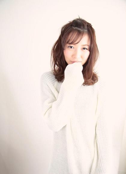 ふわふわ hair&spa an contour所属・三浦彩夏のスタイル