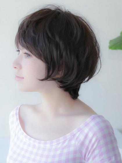 くせ毛を活かしたショート2 Ofa beauty salon所属・遠山佳秀のスタイル