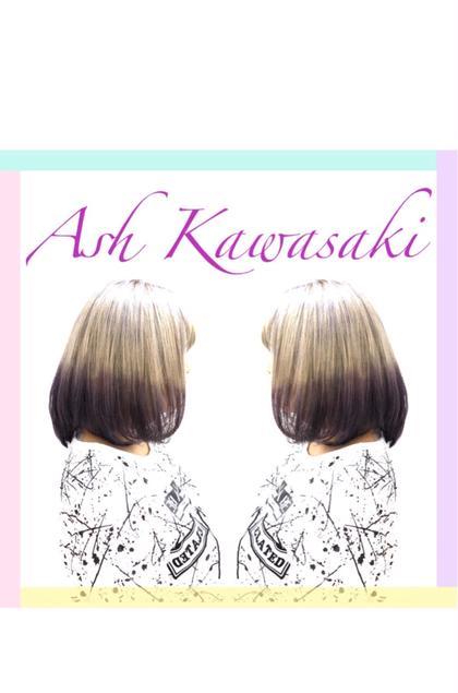 関口海人のヘアカラーカタログ
