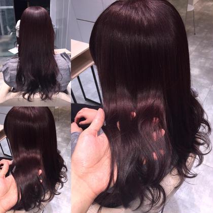 カラー セミロング ロング ツヤ髪❤︎巻き髪❤︎ イルミナカラー❤︎
