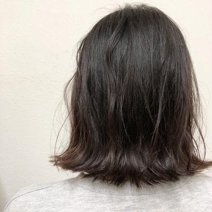 外ハネボブの切りっぱなしです! hair's beau aRc所属・井上奈々美のスタイル