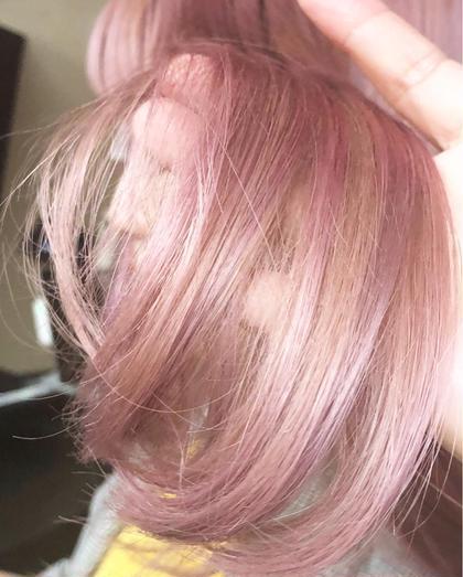 その他 カラー キッズ セミロング ネイル パーマ ヘアアレンジ マツエク・マツパ メンズ 淡いピンク