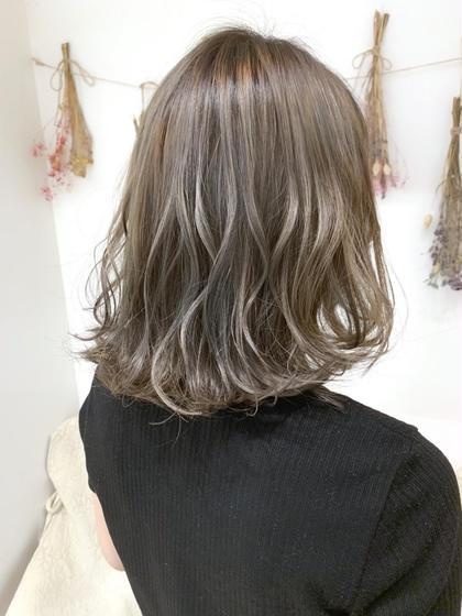 🌈💞ハイライト&外国人風カラー&トリートメントで3D外国人風でより綺麗な髪の毛をご提供させていただきます