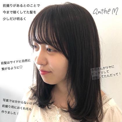 似合わせカット+イルミナカラー or アドミオカラー