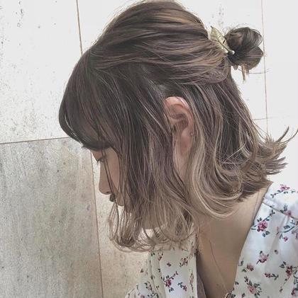 HAIR&MAKE EARTH所属・四元勝利のスタイル