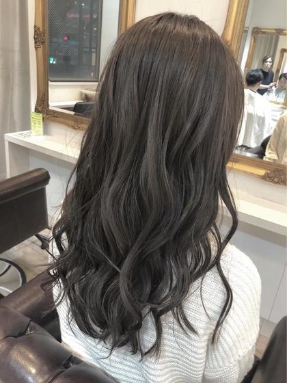 ((人気No.1🥣)) front cut + color + treatment + 超音波アイロン