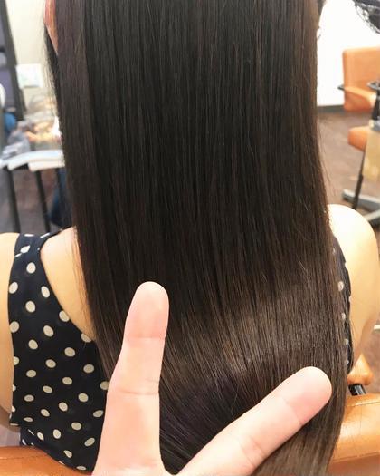 その他 カラー セミロング 夏の痛んだダメージへのスペシャルケア!!   夏のダメージには栄養を補ってしっかりケアして秋にそなえましょう❗️   最高品質カラーに日本人の髪質のためのオーダーメイド✨トリートメント✨オージュア✨4ステージトリートメント付きの贅沢メニューです   艶々になります
