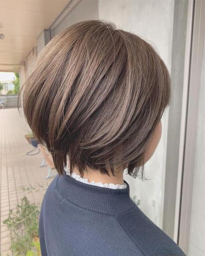 オシャレなショートボブ😊  ショートボブでお困りな方は是非🤲🙌 Le blanc hair gallery所属・masa のスタイル