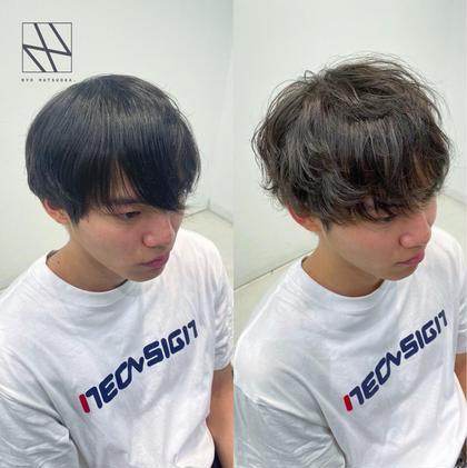 🔥イメチェンフルコース🔥似合わせカット💥+韓国風カラー+イメチェンパーマ🔥+髪質改善4STEPトリートメント🌿
