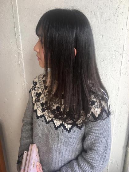 ⚪️人気No.1‼️【くせ、ボリュームを軽減!!】カット&カラー&髪質改善ストレートパーマ&最高級うる艶トリートメント