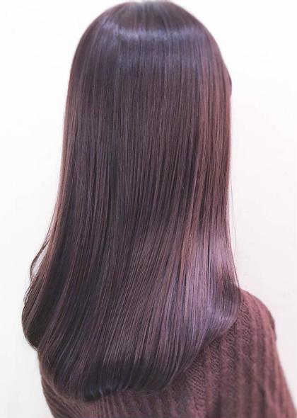カット & カラー &さらヘア縮毛矯正 & トリートメント