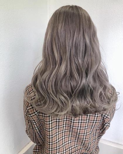 【✨写真の色をあなたの髪に✨】ダブルカラー orグラデーション(ブリーチ1回)& 2stepアミノ酸トリートメント