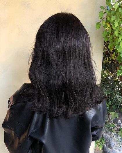 ♡《黒染めしたくない方必見》暗髪ワンカラー