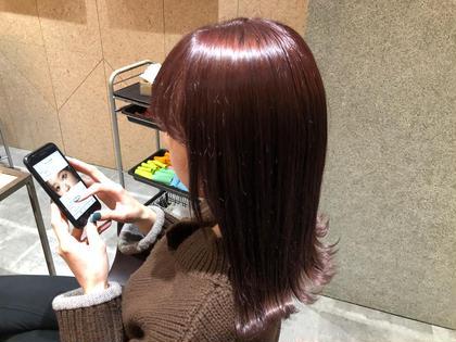 ✨艶髪✨デザインカット+N.カラー+TOKIOトリートメント