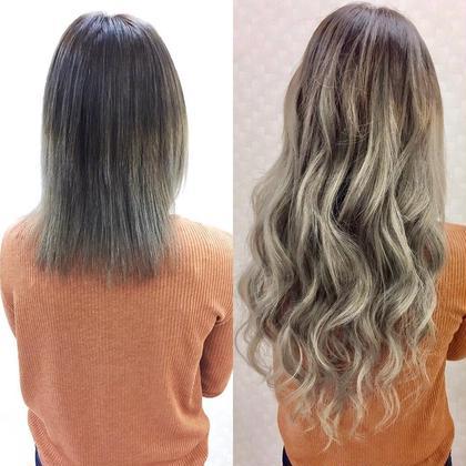 【シール】『地毛を染めずグラデーション』色が豊富だから出来る 50枚¥12998