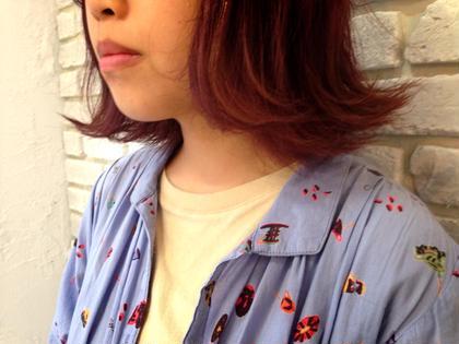 秋から仲間入りした lavender♡ かわいいですよ!女アップデート♡ agir hair所属・河合真里奈のスタイル