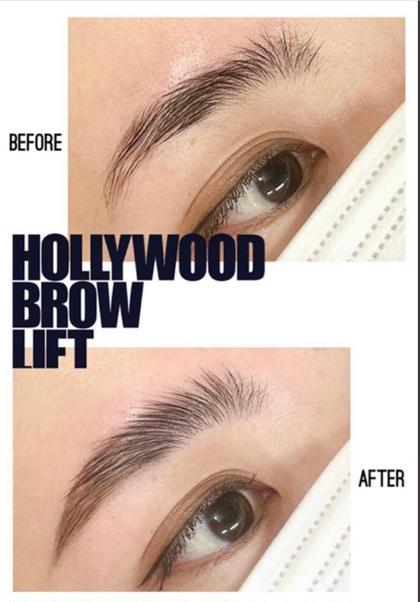 🇺🇸 話題のハリウッドブロウリフト 🇺🇸 平日限定モニター価格モデルさん募集❣️《眉周りwax脱毛込み》