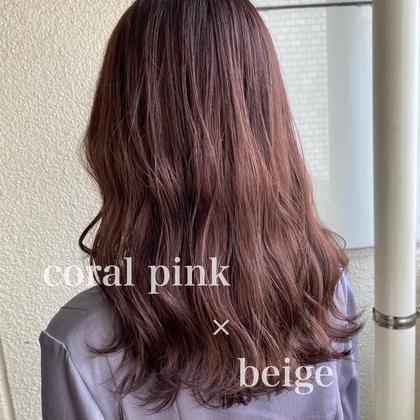 🌈人気no.1 🌈髪質改善カット+ケアカラー+オーダーメイドTR12000→6900